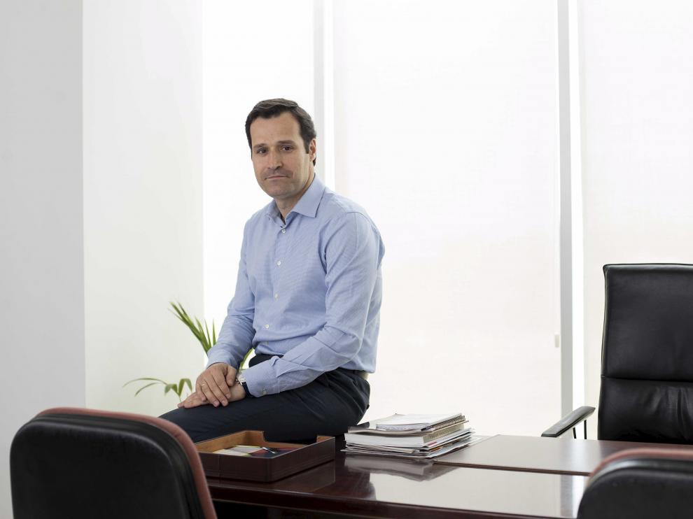 Jesús Egido Roldán, director del Área Económica de BSH España, en su despacho.