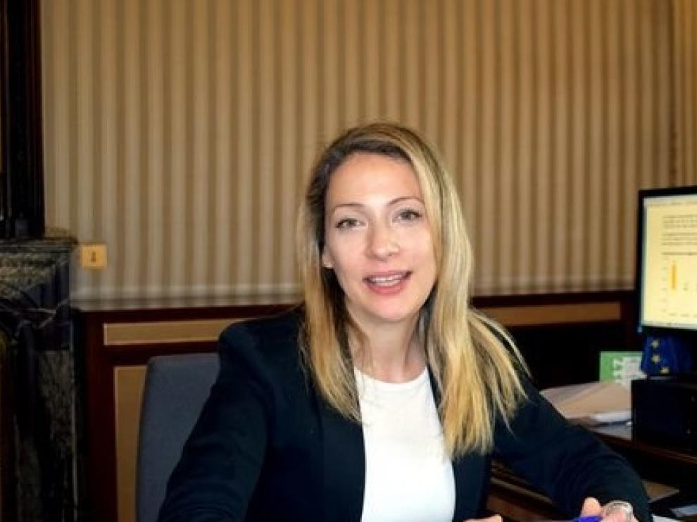 La comisionada del Gobierno frente al reto demográfico, Edelmira Barreira.