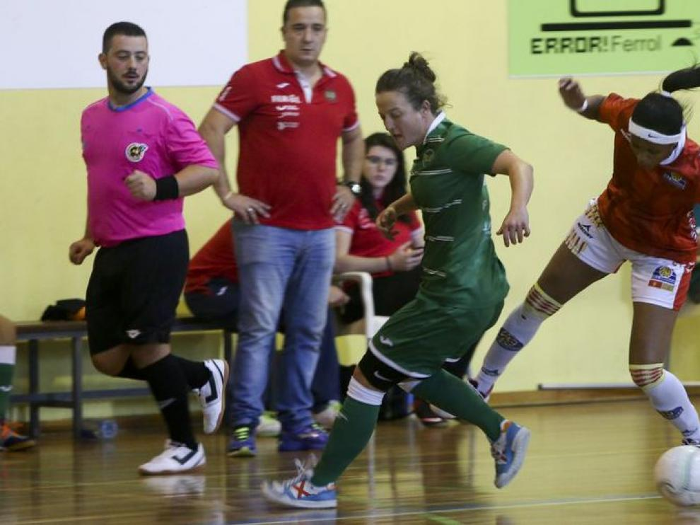 Segunda División femenina. Valdetires vs. Sala Zaragoza.