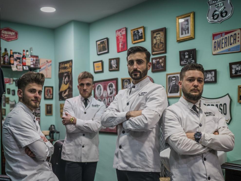 Una barbería zaragozana entre las 20 más influyentes de España