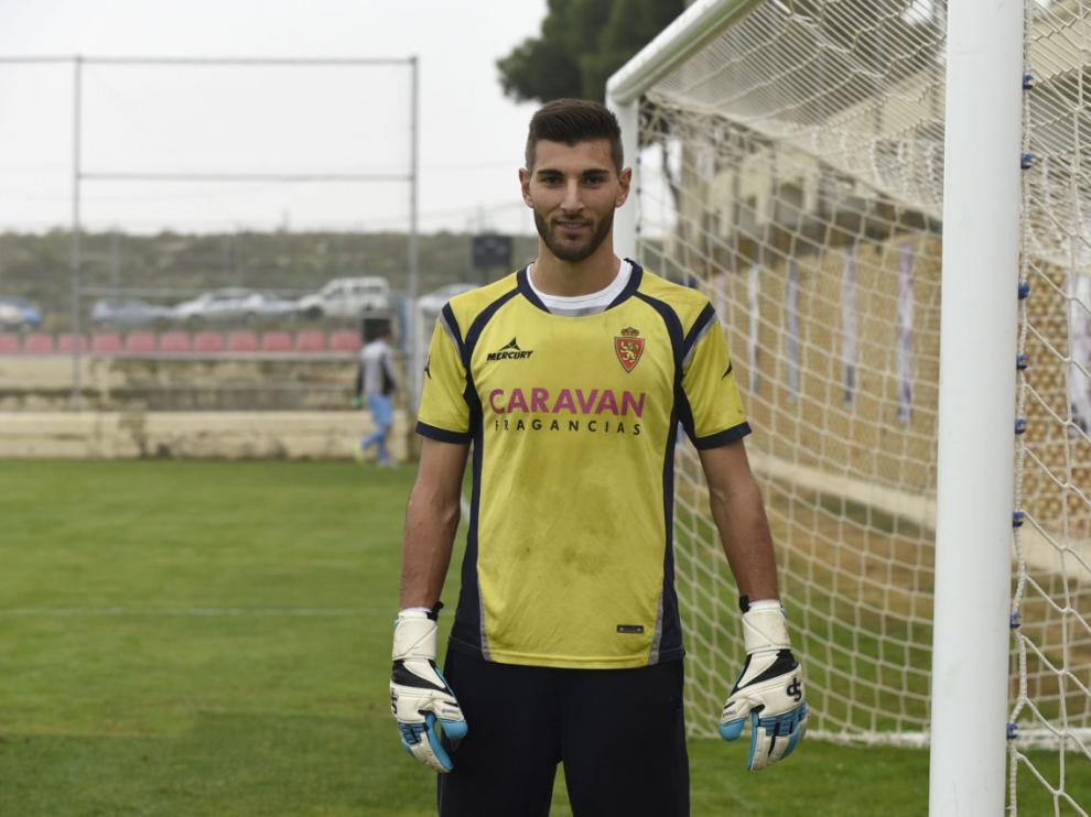El guardameta Álvaro Ratón es natural de Carballino, en Orense.