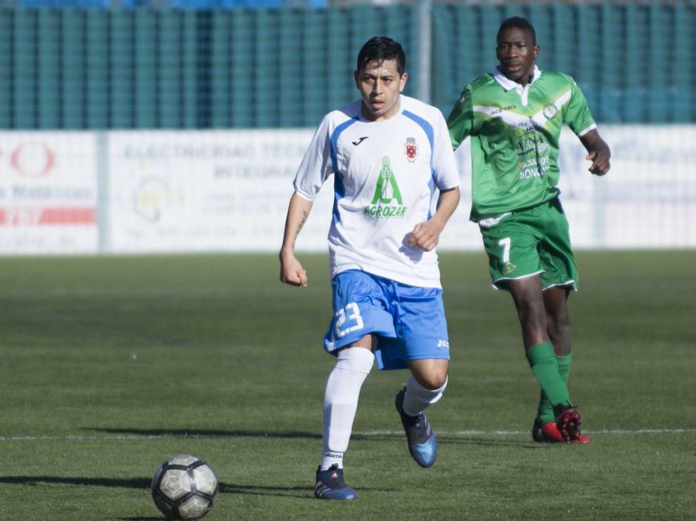Imagen de archivo de un partido de la temporada pasada entre el Cuarte y el Fuentes