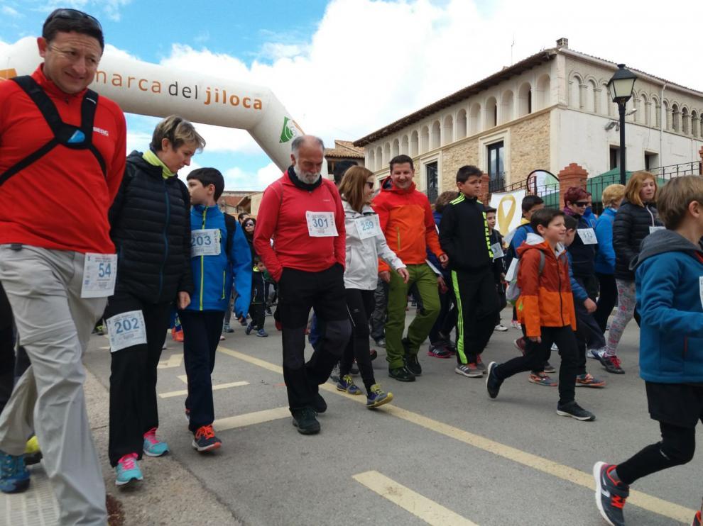 Marcha a beneficio de Aspanoa en Monreal del Campo