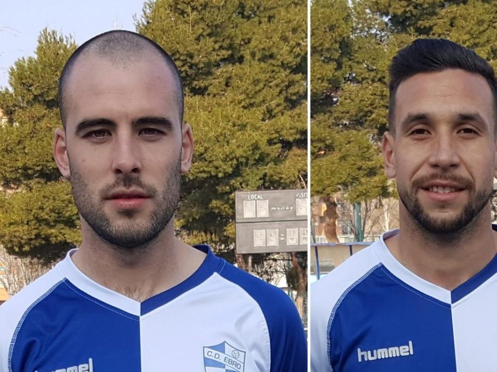 Echániz y Portuga, nuevos jugadores del Ebro.