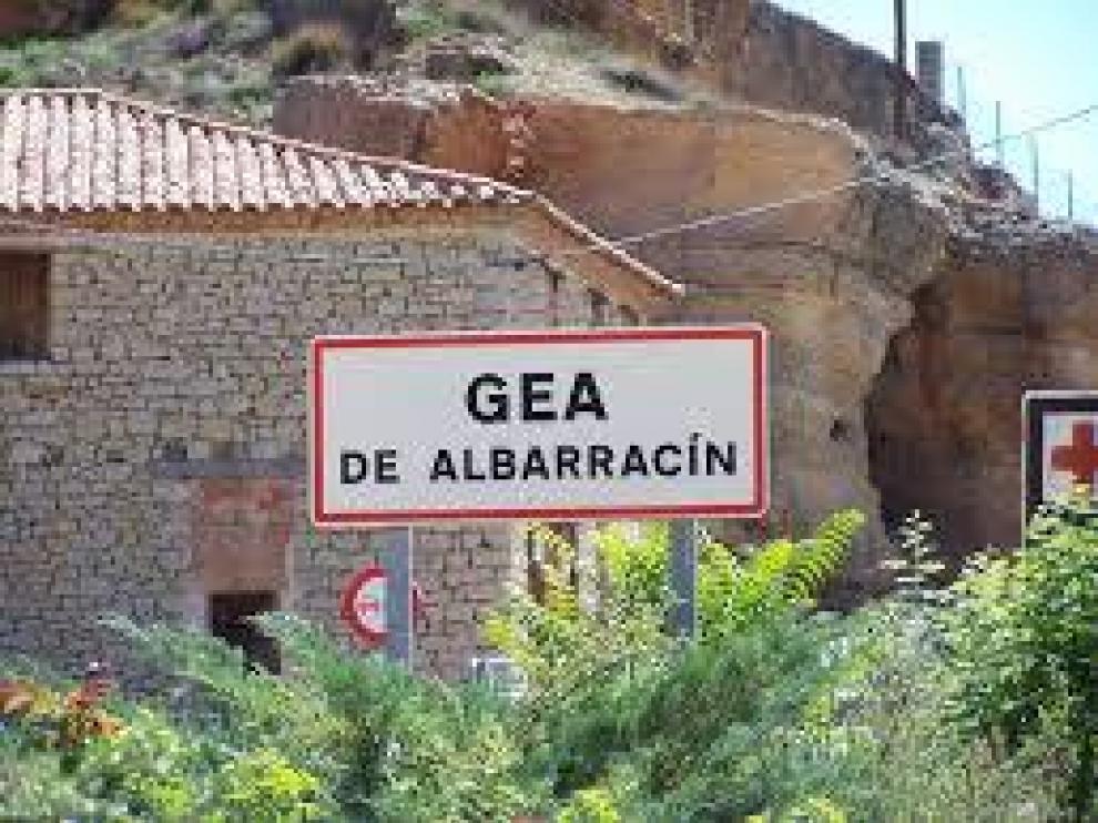Imagen de archivo de Gea de Albarracín.