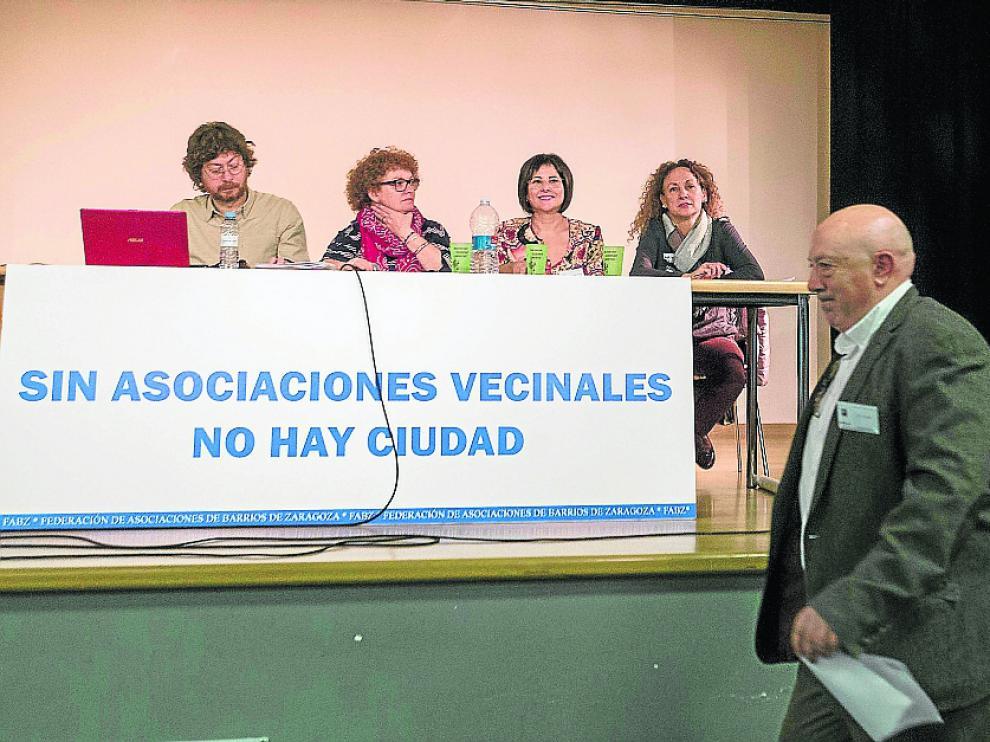 Juan Manuel Arnal fue elegido hace dos semanas nuevo presidente de la Federación de Barrios.