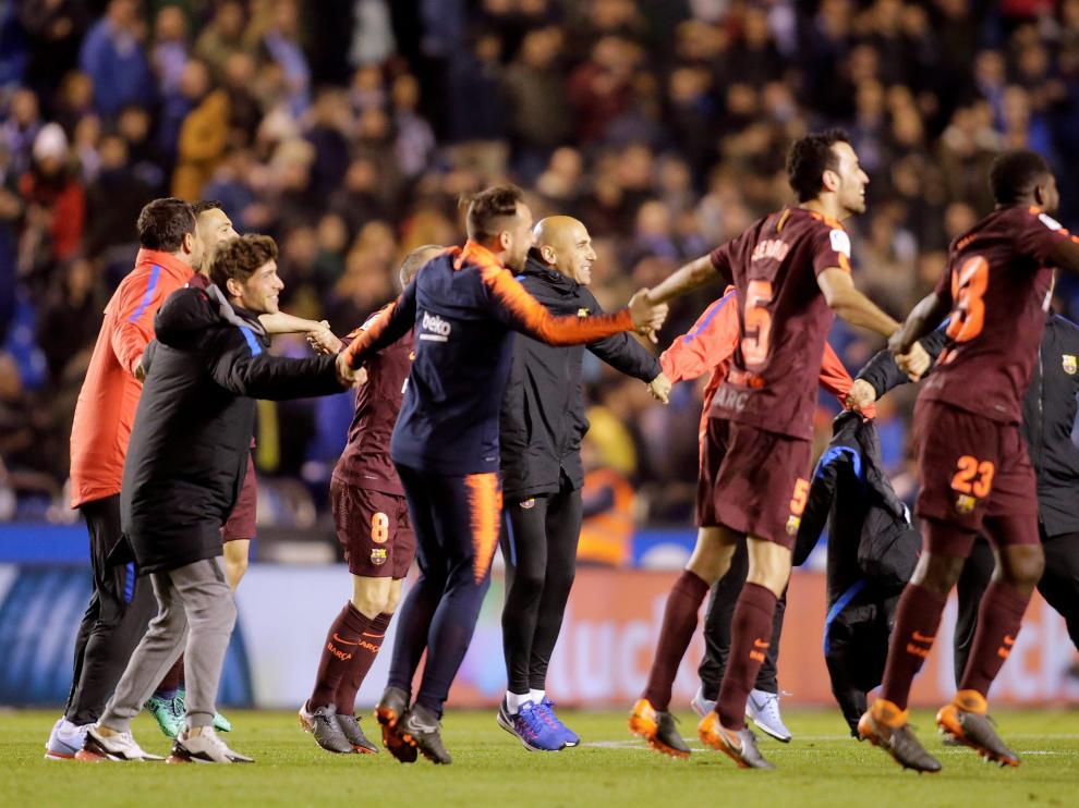 El FC Barcelona se proclama nuevamente campeón de liga.