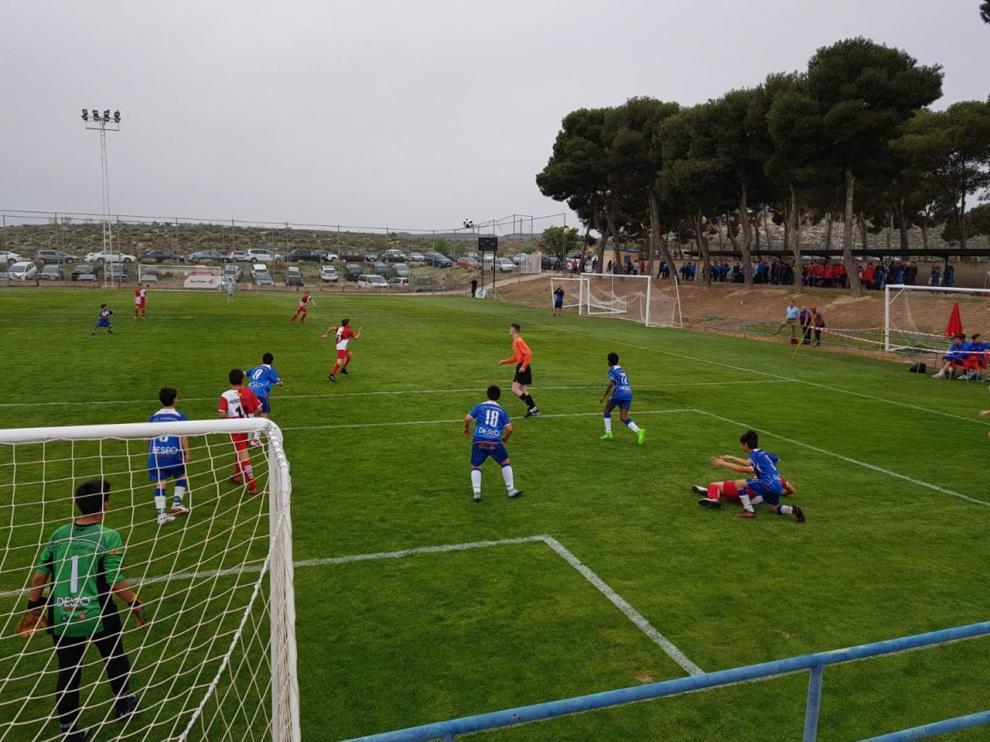 El balón rueda en la Ciudad Deportiva desde las 9.00 por el Torneo San Jorge.