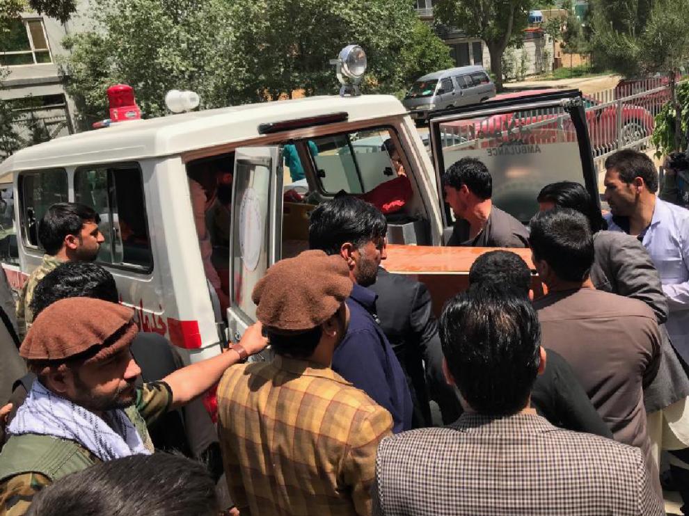 Muere a tiros un periodista de la BBC al este de Afganistán. Ya son 11 en los últimos días.