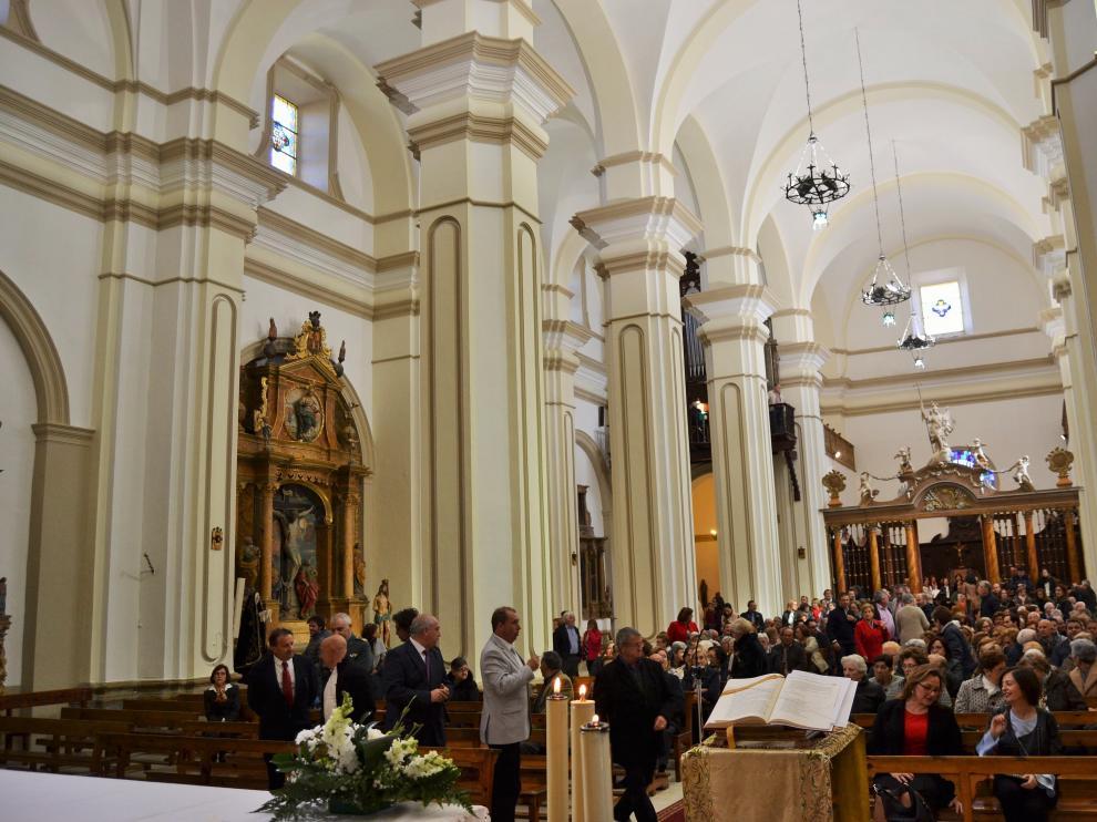 La Iglesia de Santiago en Luna