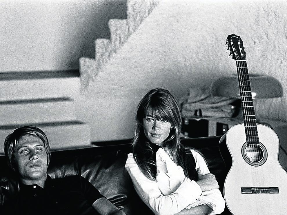 Françoise Hardy y Jacques Dutronc