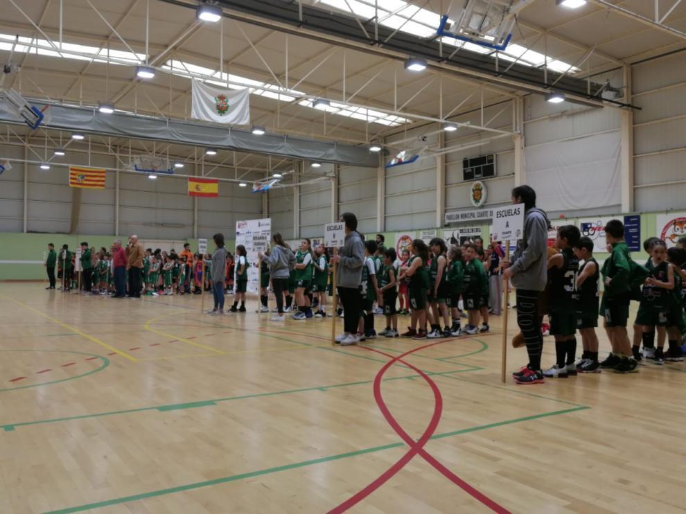 Un momento del torneo celebrado en Cuarte de Huerva.