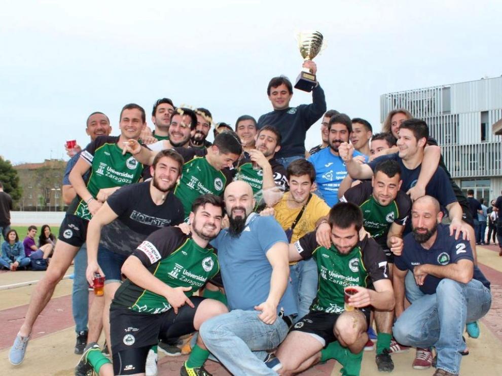 El Unizar, nuevo campeón de la Liga Aragonesa.