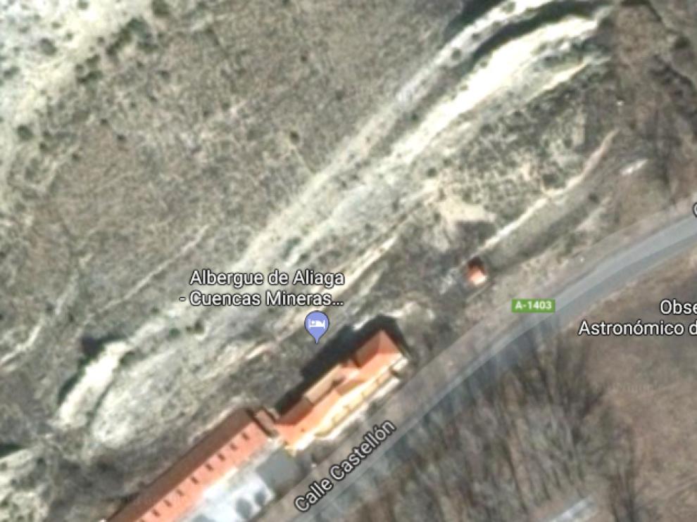 El observatorio se ubicará frente al albergue de Aliaga, declarado el año pasado establecimiento Starlight.