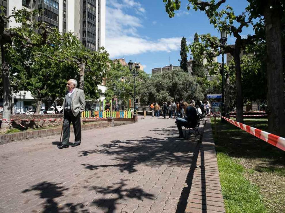 La reyerta se produjo en marzo de 2017 en la plaza de Salamero de Zaragoza.
