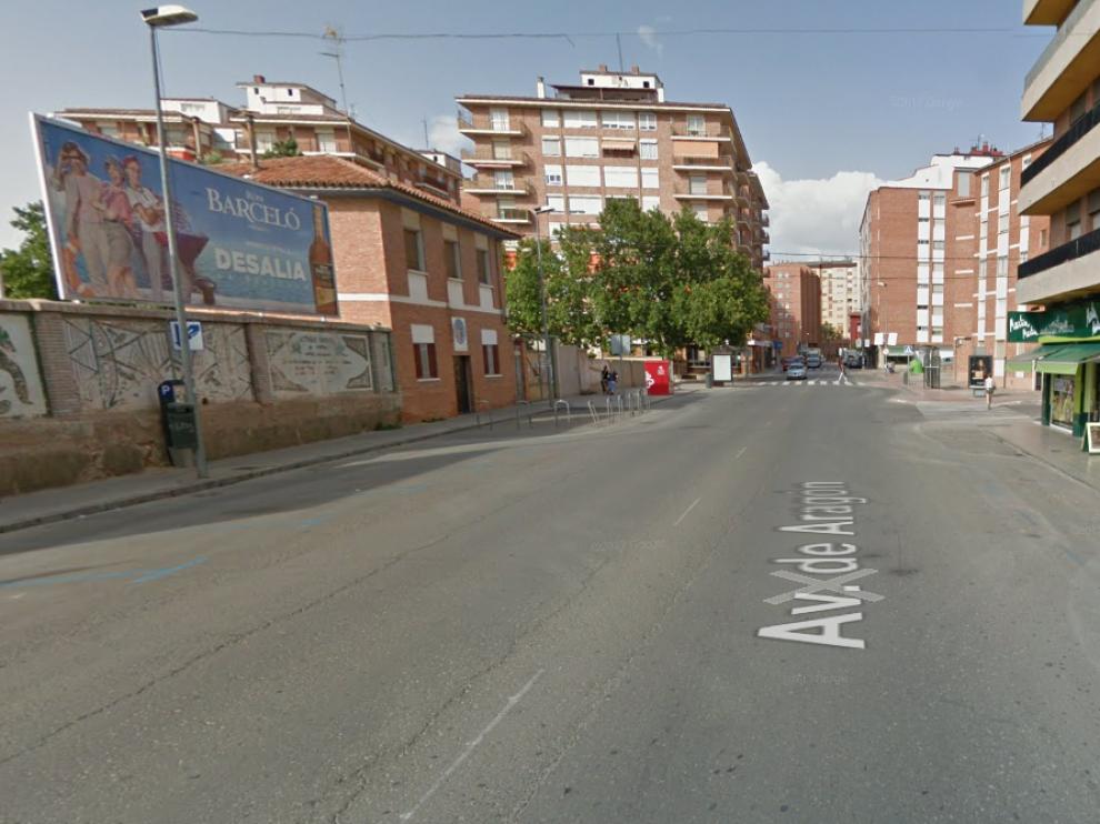 Avenida de Aragón en Teruel