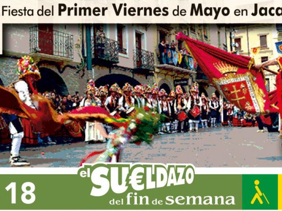 Imagen del cupón del cinco de mayo.
