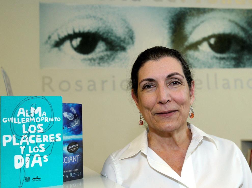 La periodista mexicana Alma Guillermoprieto, premio Princesa de Asturias de Comunicación, en una imagen de febrero de 2016.