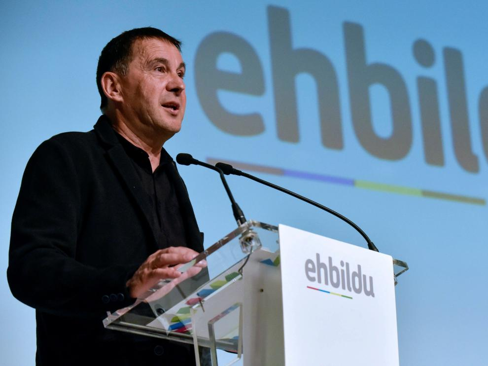 Arnaldo Otegi, secretario general de EH Bildu.