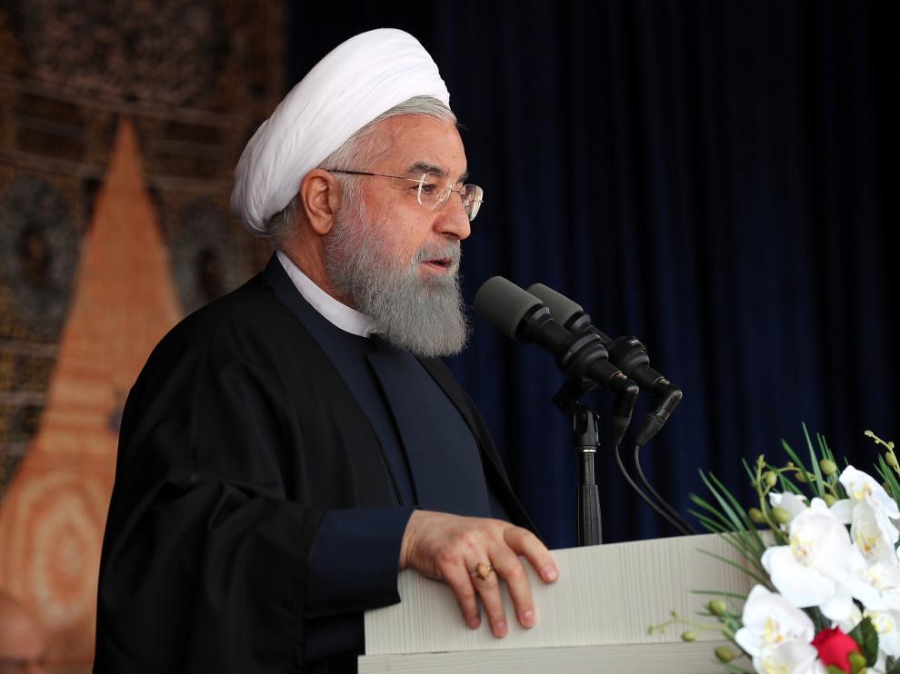 El presidente iraní, Hasan Rohaní.
