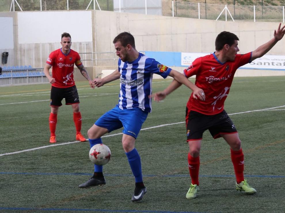 Fútbol. Tercera División- Ejea vs. Teruel