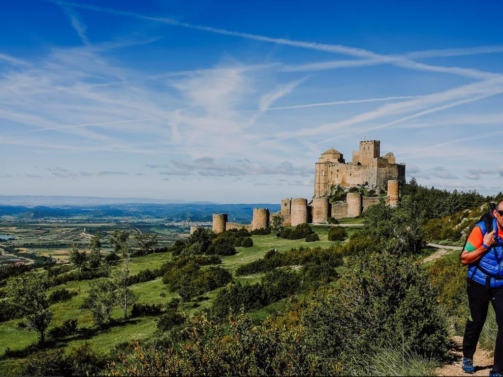Castillo de Loarre, en la Hoya de Huesca.