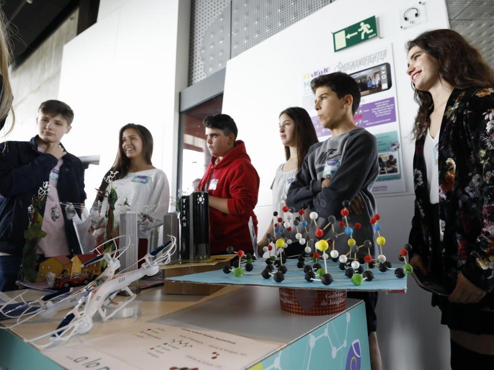 III Feria de Nanociencia para escolares de Aragón.