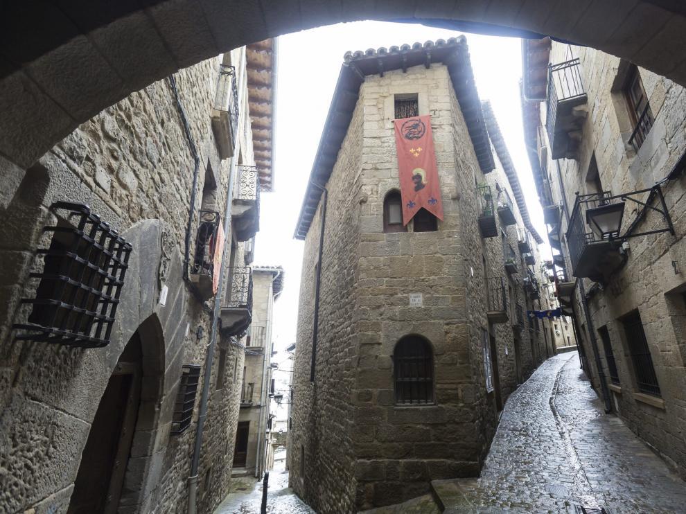 Sos del Rey Católico es uno de los pueblos incluidos en el listado de los más bonitos de España.