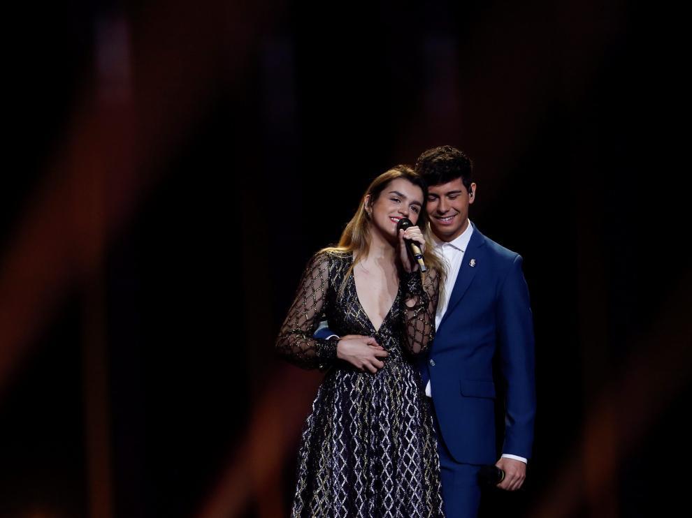 Amaia y Alfred, representantes de España en Eurovisión