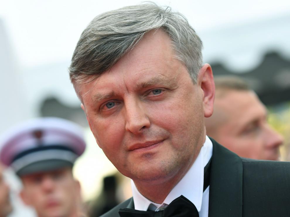 El director de cine ucraniano, Sergei Loznitsa.