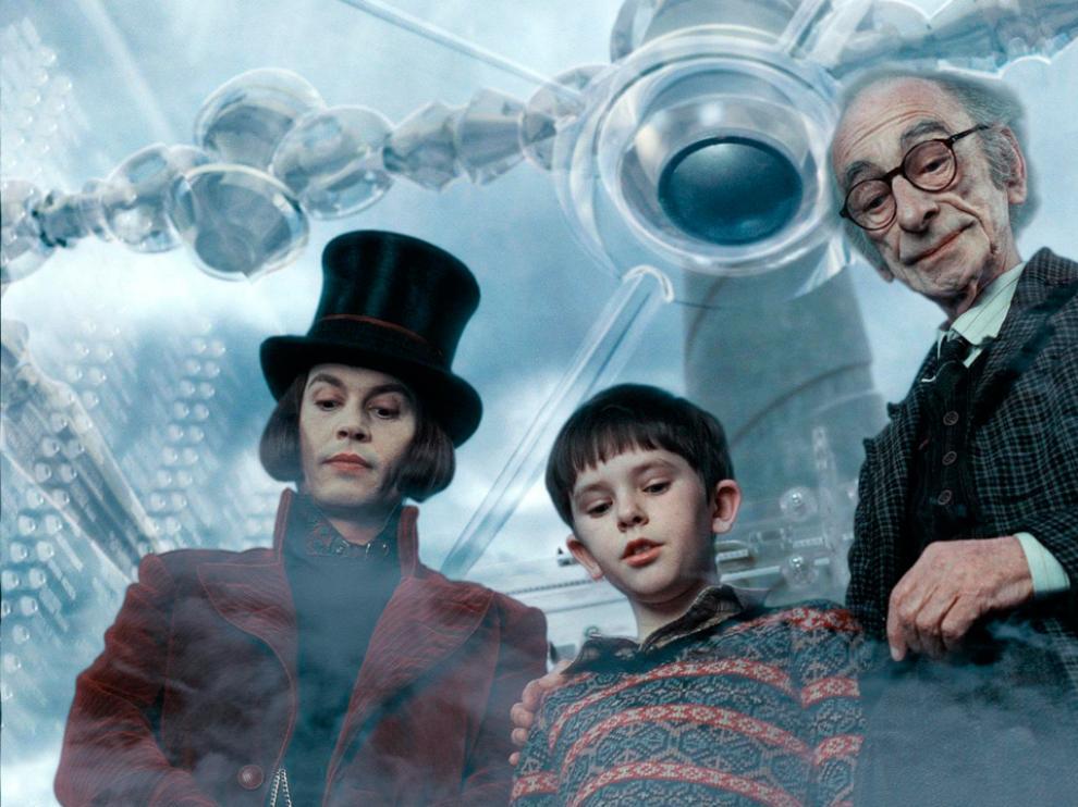 El abuelo Joe, de 'Charlie y la fábrica de chocolate', es uno de los abuelos más entrañables del cine.