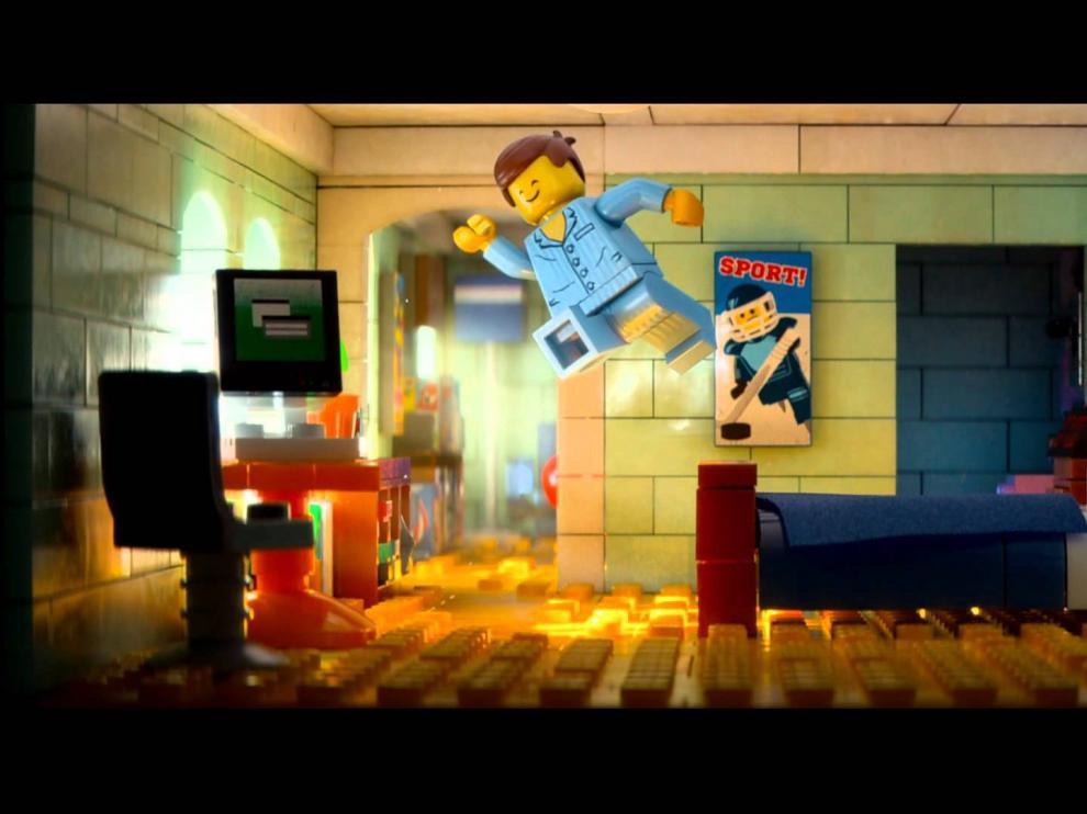 Escena de la 'La LEGO película'