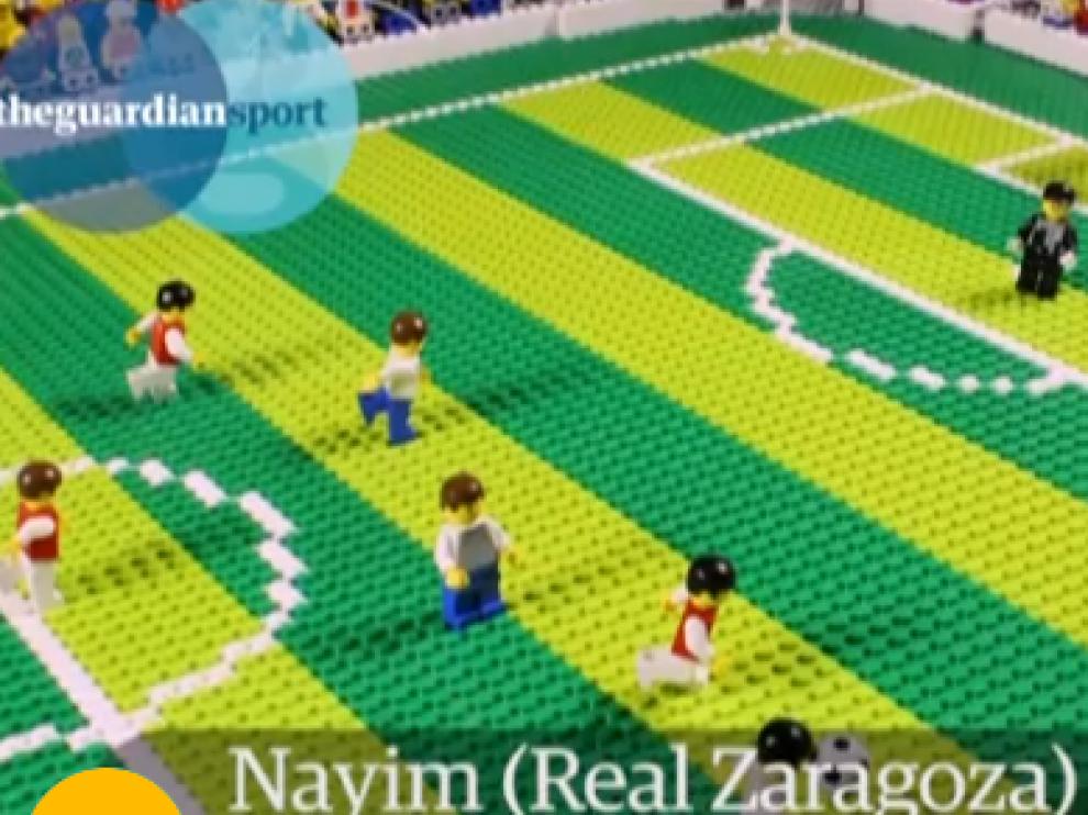 El gol de Nayim... hasta en Playmobil