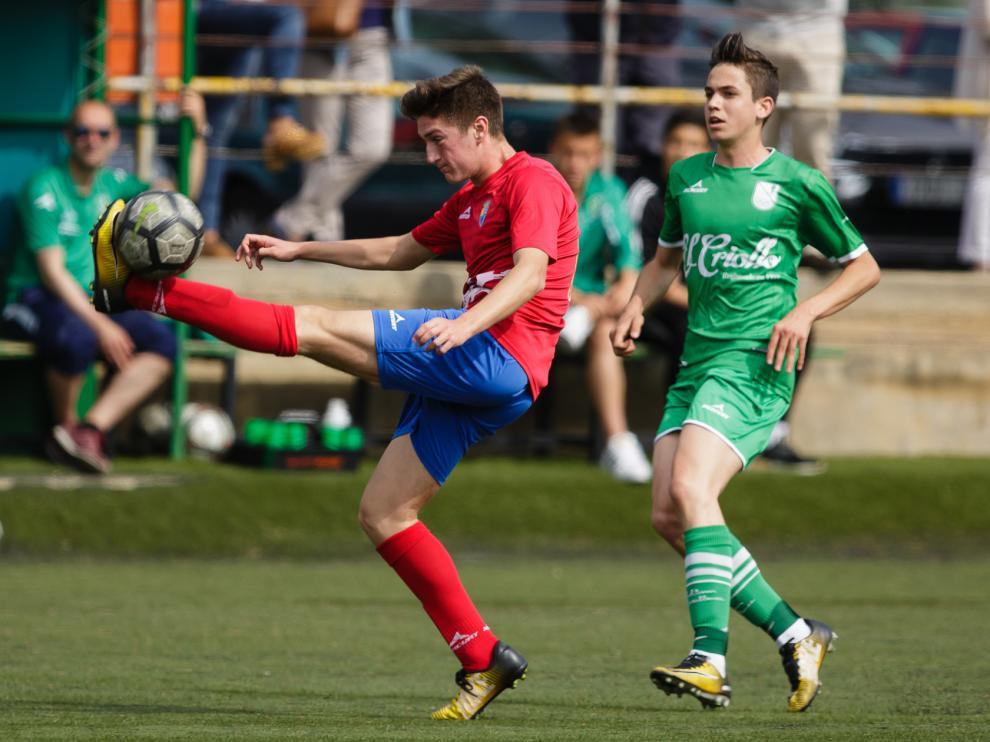 Fútbol. División Honor Cadete- Stadium Casablanca vs. Teruel. Daniel Marzo