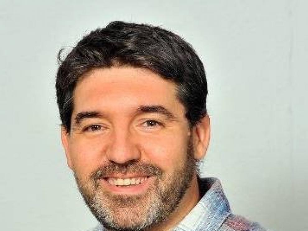 Guillermo Lázaro, coordinador del grupo municipal de ZEC y exsecretario general de Podemos en Zaragoza.