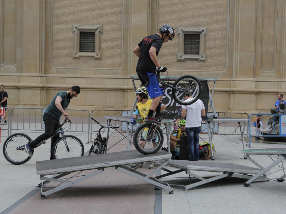 Zaragoza is Bike.