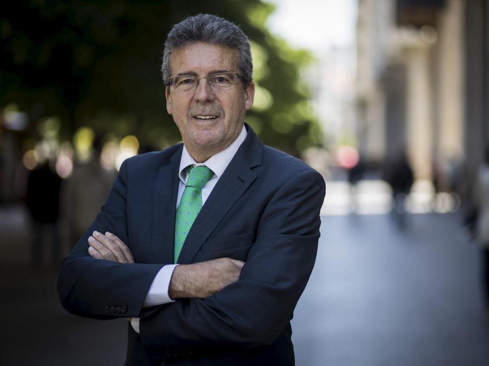 Xavier Gisbert, presidente de la Asociación Enseñanza Bilingüe