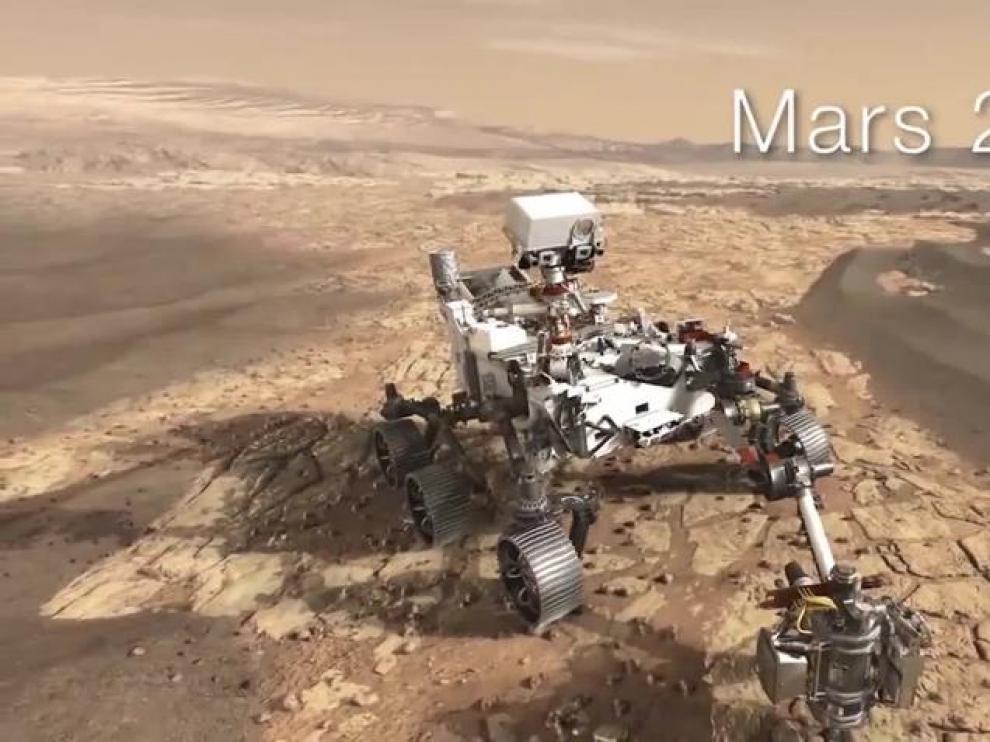 La NASA incluye un helicóptero en la misión Mars 2020 a Marte