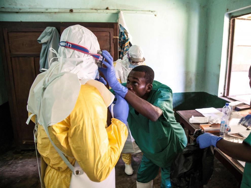 Al menos 19 personas han muerto en el Congo por un nuevo brote de ébola este mes de mayo.