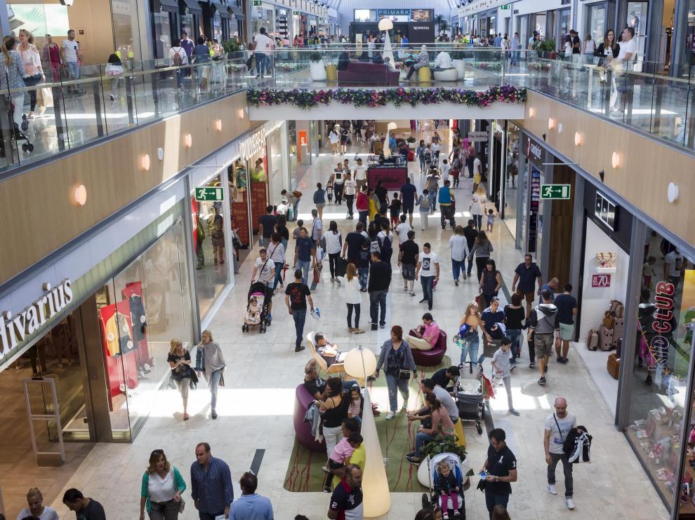 Imagen de archivo del centro comercial Puerto Venecia