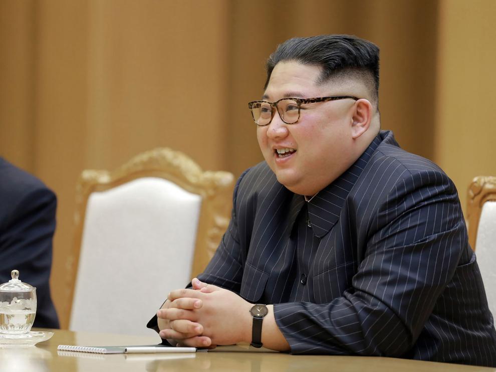 El lider norcoreano, Kim Jong Un.