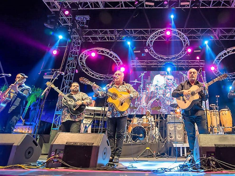 Gipsy Kings actúa este fin de semana en Pirineos Sur, en una de los últimos actos de su programación.