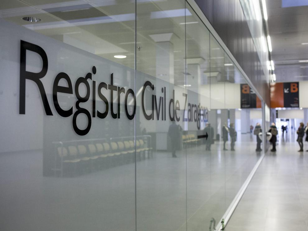 Oficina del Registro Civil de Zaragoza en la nueva Ciudad de la Justicia