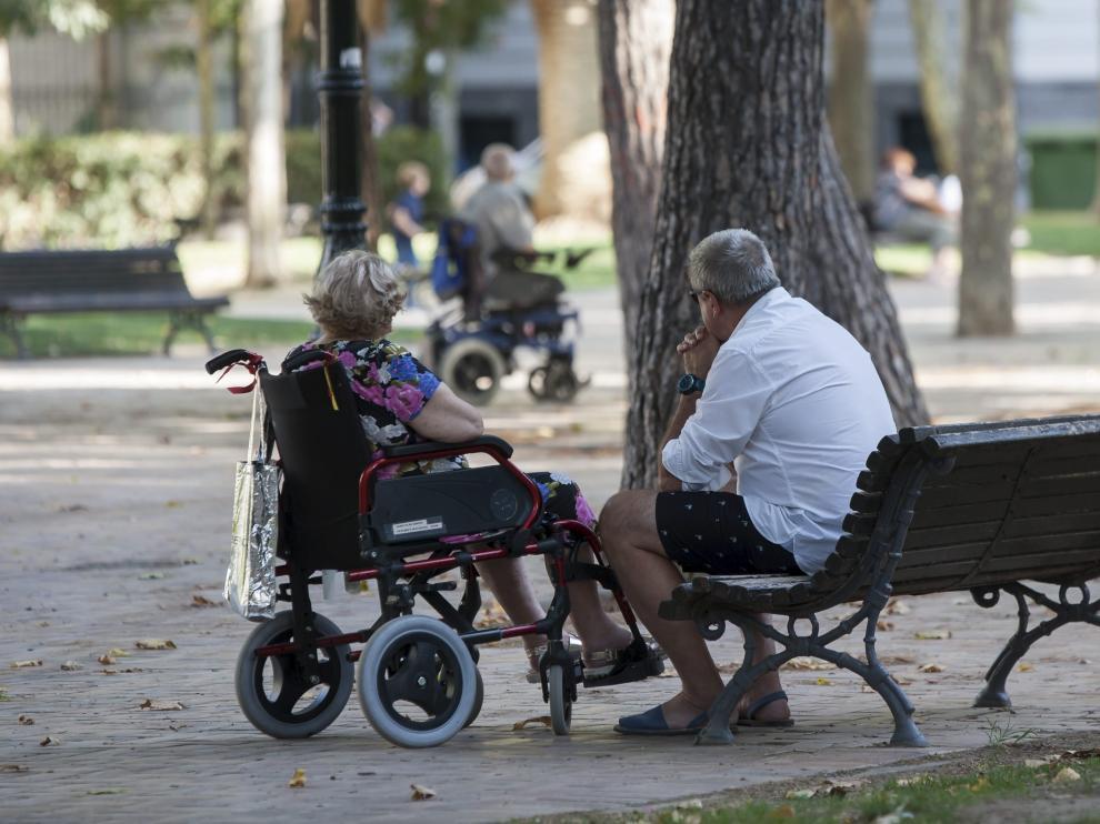Los afectados por el cambio de normativa no retroactivo son personas mayores dependientes