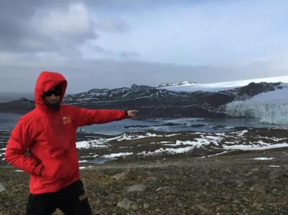 De Zaragoza a la Antártida para estudiar el cambio climático.
