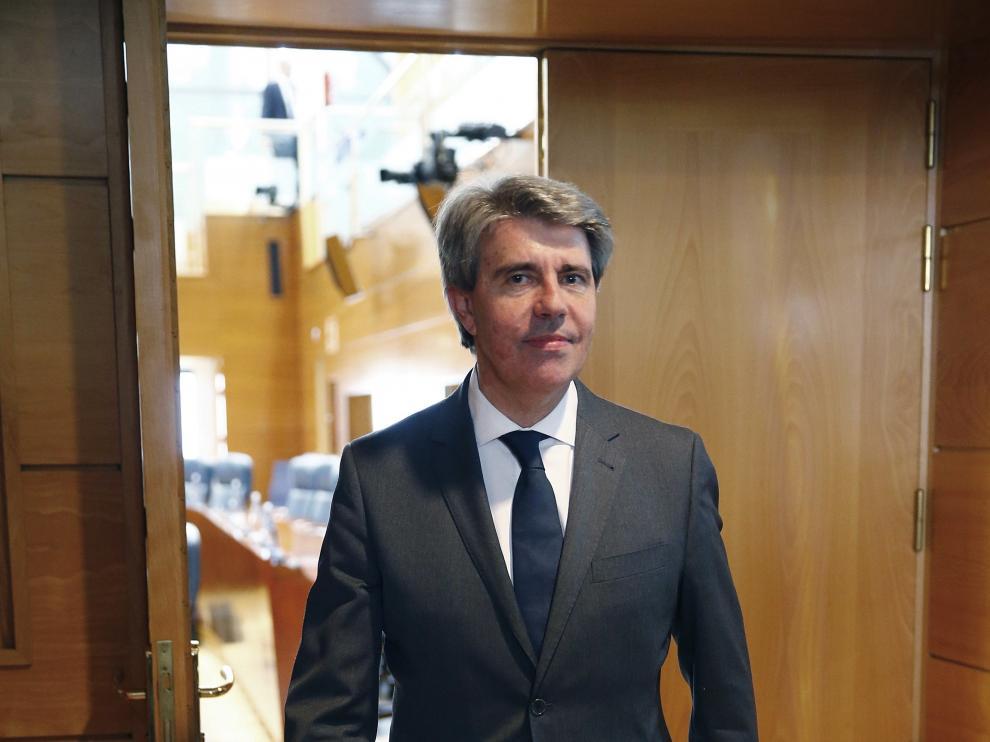Ángel Garrido, elegido nuevo presidente de la Comunidad de Madrid.