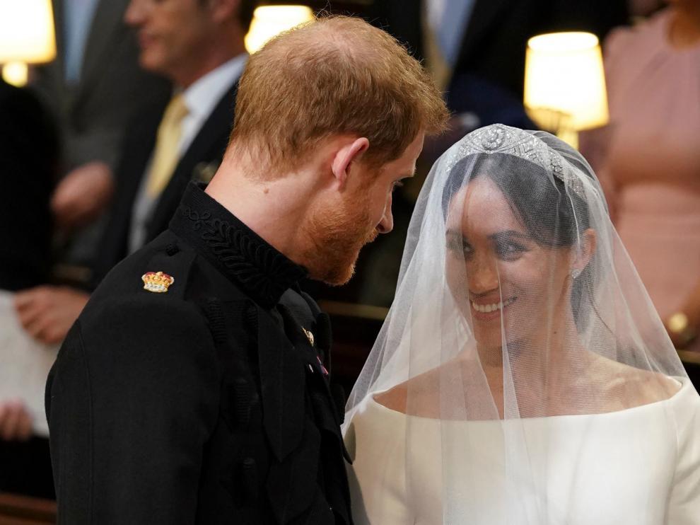 El príncipe Enrique y Meghan Markle se dan el sí quiero