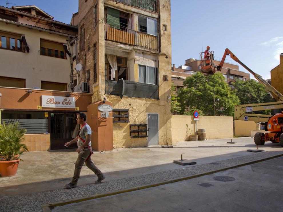 Edificio de la calle San Antón, 12, de Calatayud.