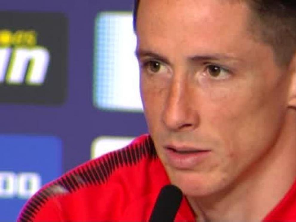 """Fernando Torres: """"El cariño es lo máximo que me llevo, y eso es el Atleti"""""""
