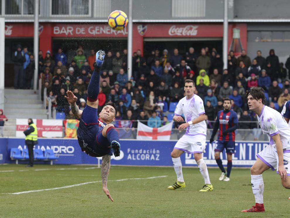 Partido SD Huesca - Numancia. 2-1 (14 de enero de 2018). | Rafael Gobantes